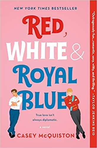 red white and royal blue, caset mcquiston