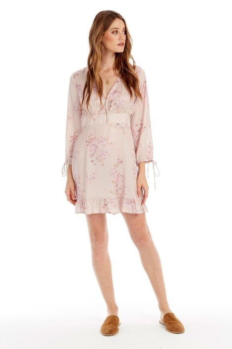darcy floral mini dress